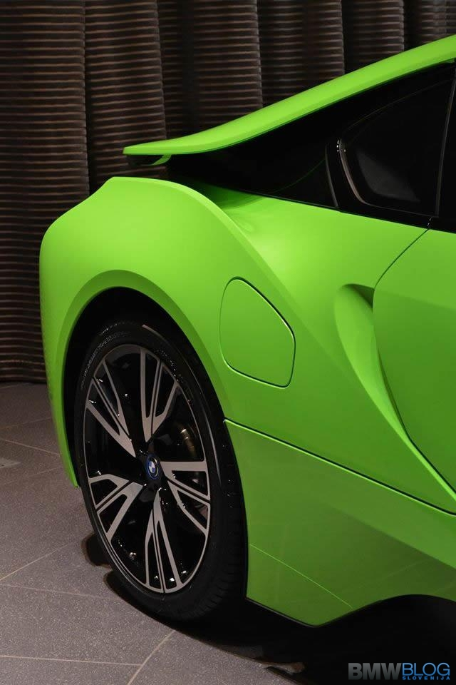 Bmw I8 Lime Green 8 Bmwblog