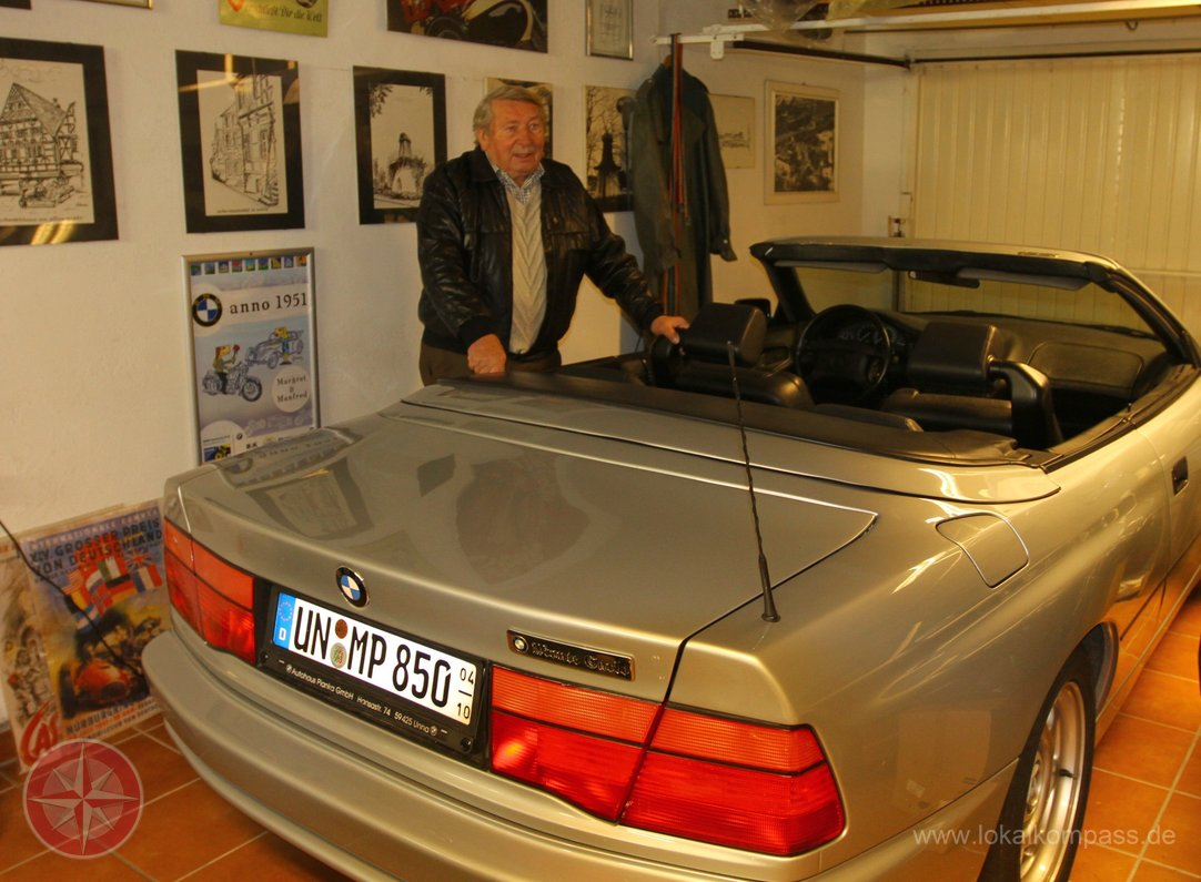 Bmw 850 Cabrio Quot Mr Bmw Quot Iz Unna Bmwblog Bmwblog
