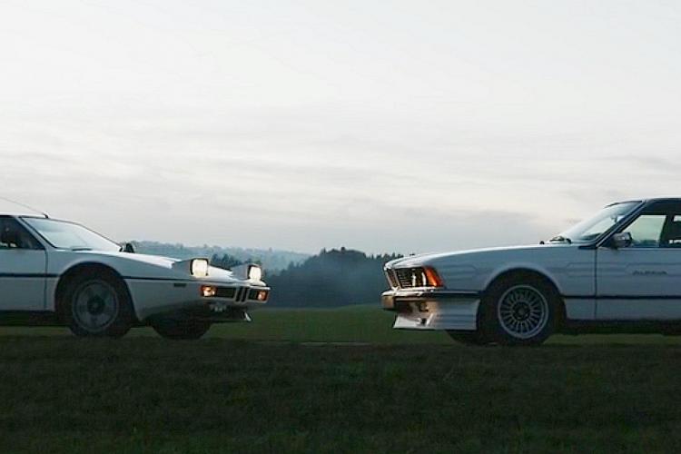 BMW m1 - ALpina B7 - naslovna