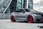 Frozen-Gray-BMW-M4-Vorsteiner-V-FF-102-Wheels-2