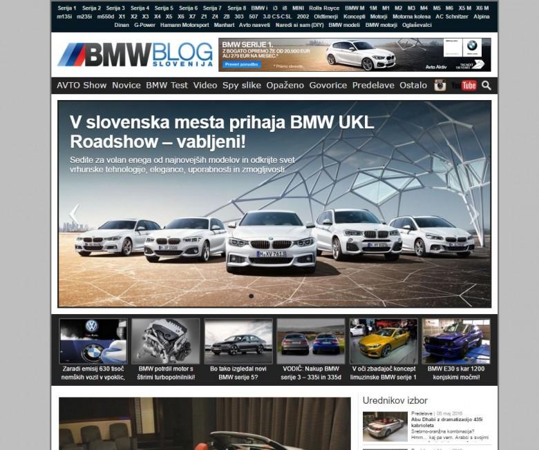 bmwblog slovenija 2016