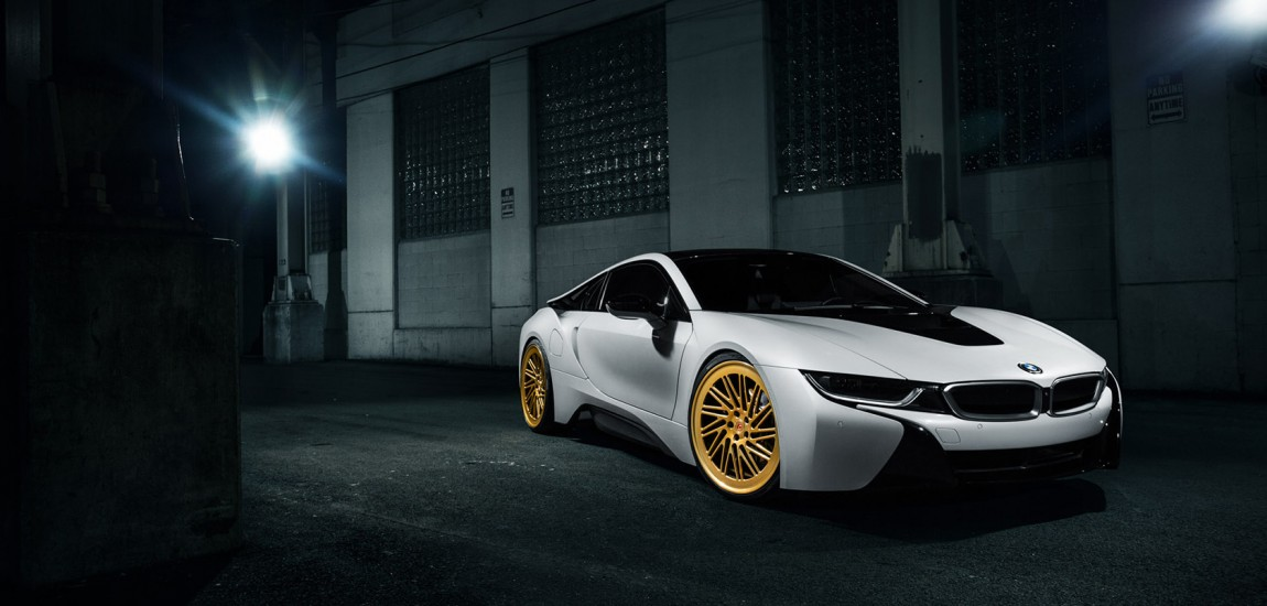 A BMW i8 - Vossen Forged LC-105T Wheels 1