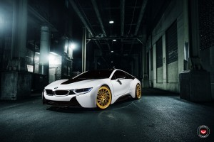 A Classy BMW i8 Gets A Set Of Vossen Forged LC-105T Wheels