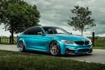 Atlantis Blue BMW M3 with HRE P101 Wheels