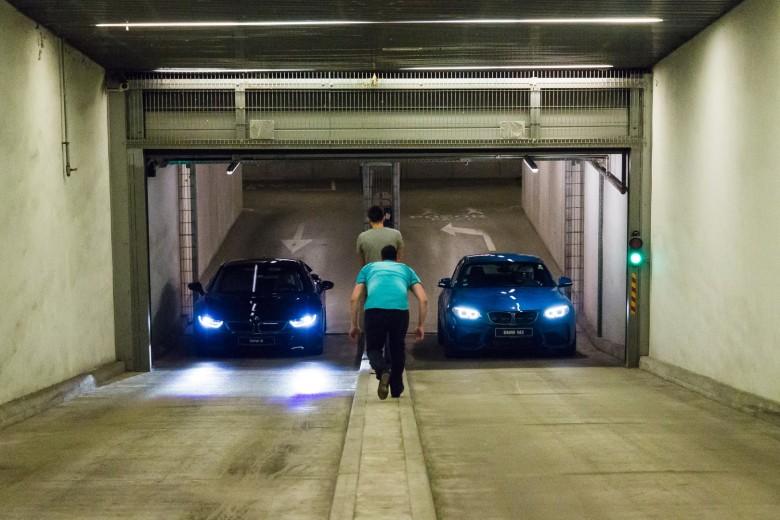 BMWBLOG - BMW i8 - BMW M2 - Behind The Scenes - Kristalna Palaca - BMW Slovenija (44)