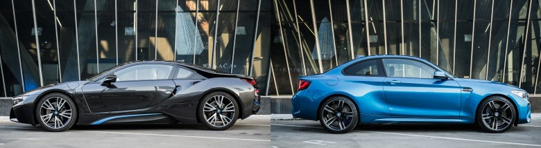BMWBLOG - BMW video - BMW i8 & M2 - Kristalna Palaca -SKUPNA