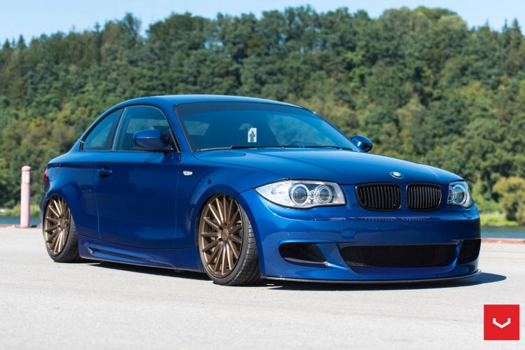 BMW 1 Series With Vossen Wheels 2