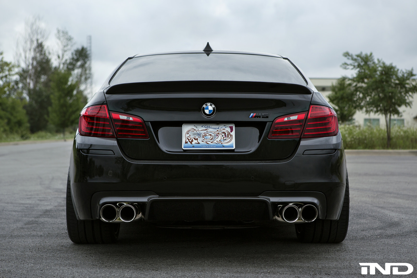 Black Sapphire Metallic Bmw M5 Cleanly Modded By Ind Distribution Bmwblog