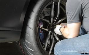 A Matte Black BMW F10 M5 Gets Vorsteiner Wheels & Aero