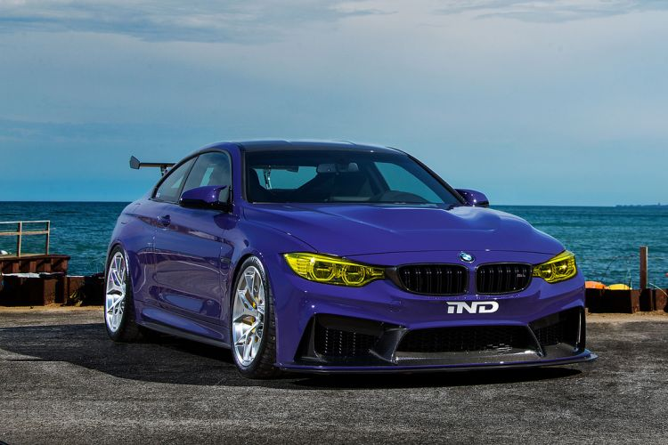 Ultraviolet BMW M4 Gets A Photoshoot