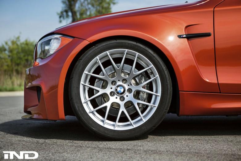 Valencia Orange BMW 1M Gets A Nice Update