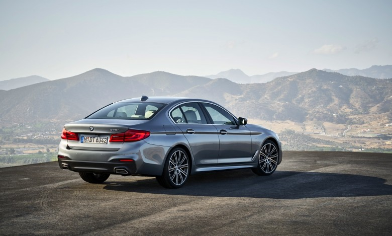 2017 BMW-5 series G30 - M Sport (7)