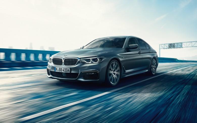 2017 BMW 5 series G30 - wallpaper HD (5)
