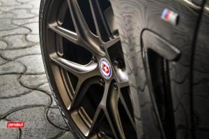 Black Sapphire Metallic BMW 435i With HRE Wheels