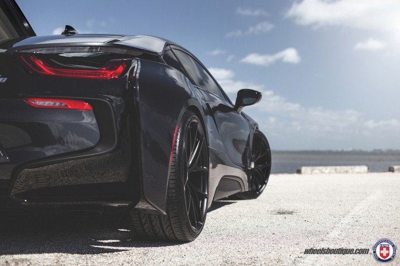 Blacked Out BMW i8 Upgraded With HRE Wheels By Wheels Boutique