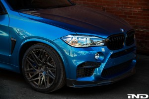 Long Beach Blue BMW X5 M By IND Distribution
