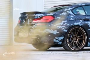 A Blue Artic Camo BMW F10 M5 Gets ADV.1 Wheels