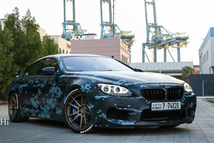 blue-digital-camo-bmw-f10-m5-bronze-adv1-wheels-concave-rims-l