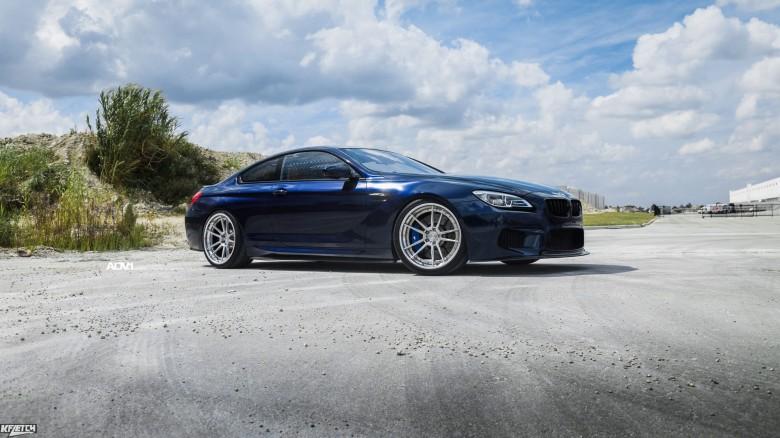 Tanzanite Blue BMW M6 Is Tastefully Modded With ADV.1 Wheels
