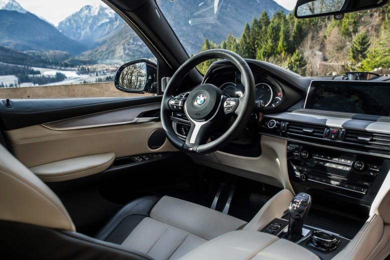 BMWBLOG - BMW TEST - BMW X6 M50d - notranjost (1)