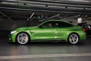 A DTM champion Marco Wittmann Receives A Java Green BMW M4 Coupe