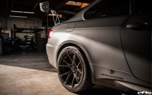 Matte Black Beast Of A BMW M3 By European Auto Source