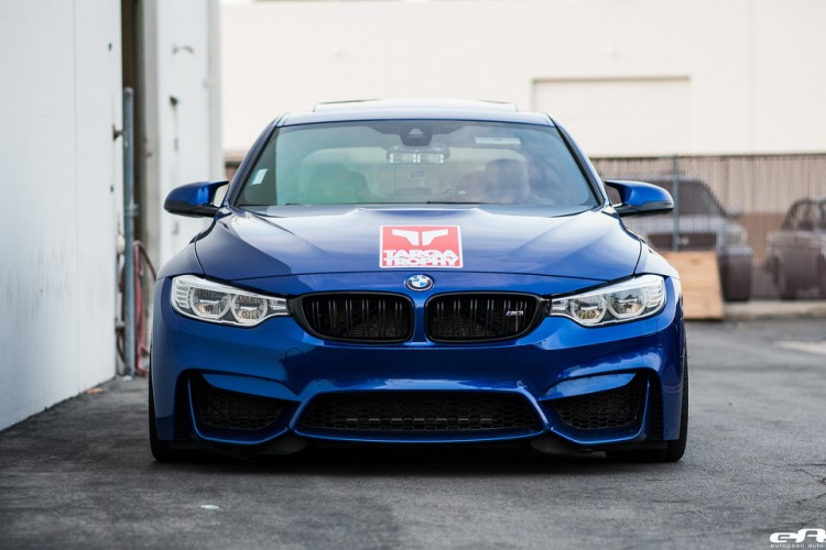 San Marino Blue BMW F80 M3