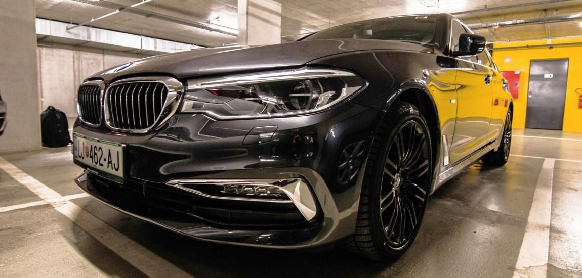 BMWBLOG - Spotted - BMW 5 series G30 - 540i - Slovenia - naslovna