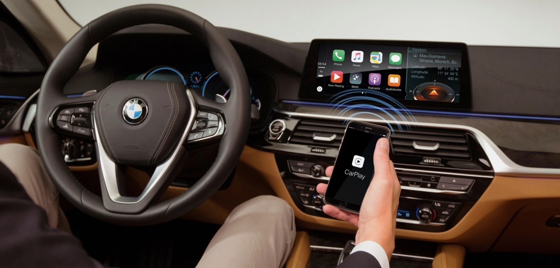 Harman Implementiral Brezžični Apple Car Play V Bmw Serijo