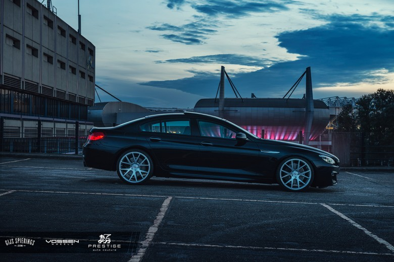 BMW 6 Series Gran Coupe Photoshoot