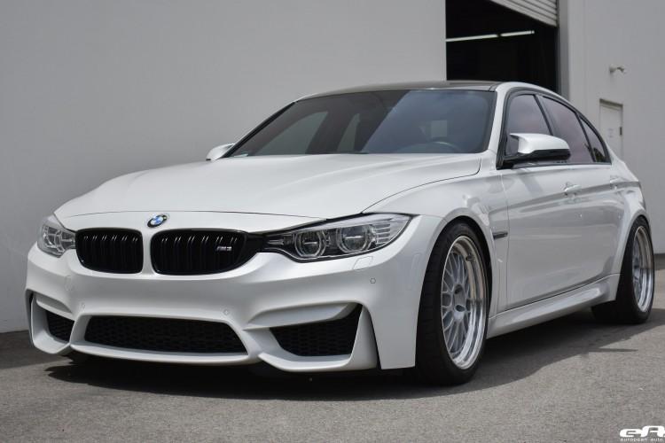 Mineral White BMW F80 M3 Project Showcase 14