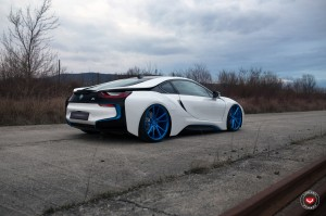 BMW i8 With Vossen Wheels