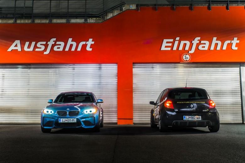 BMWBLOG - BMW M2 - Renault Clio - Nurburgring - Nordschleife - Furlantech - Photoshoting (7)