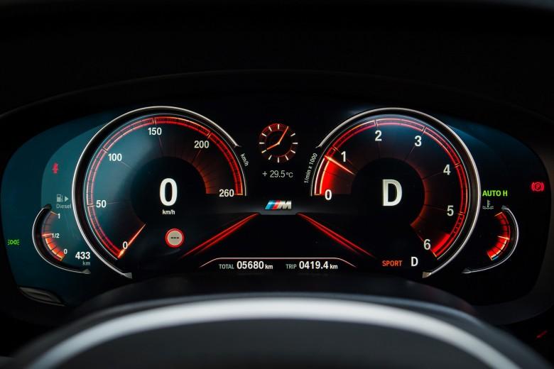 BMWBLOG - BMW TEST - BMW 5 series G30 - 520d xDrive M package - inside (11)