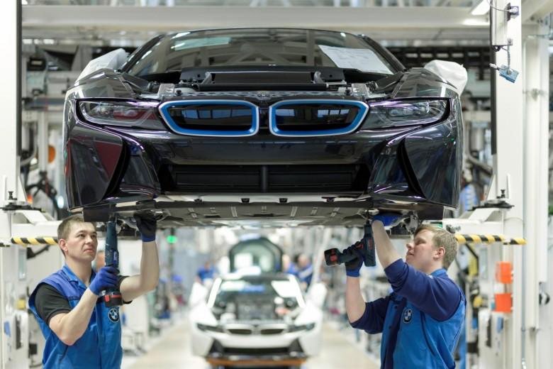 Montage BMW i8