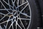 BMW F30 335i With VMR V801 Wheels In Mercury Black Metallic 10