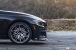 BMW F30 335i With VMR V801 Wheels In Mercury Black Metallic 4