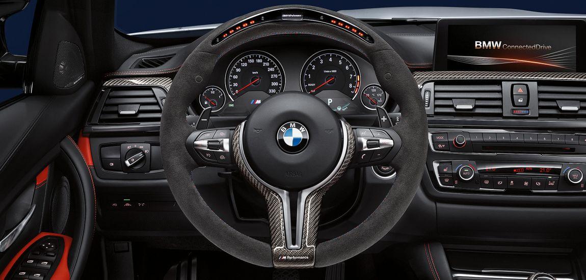 BMW steering wheel - naslovna