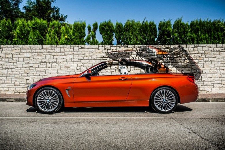 BMWBLOG - BMW TEST - BMW 430i Cabrio - Sunset Orange (25)