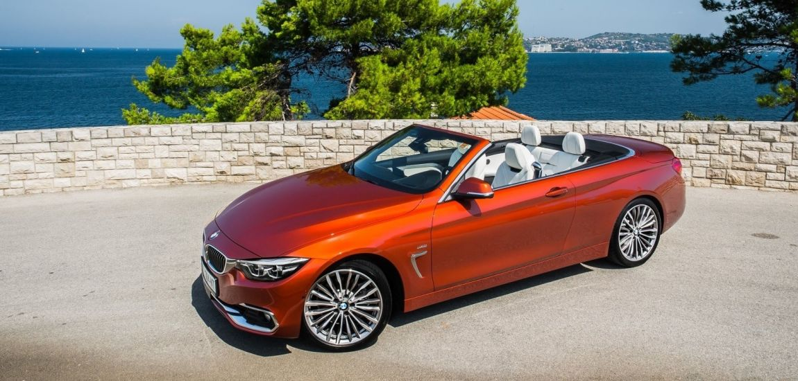 BMWBLOG - BMW TEST - BMW 430i Cabrio - Sunset Orange - naslovna