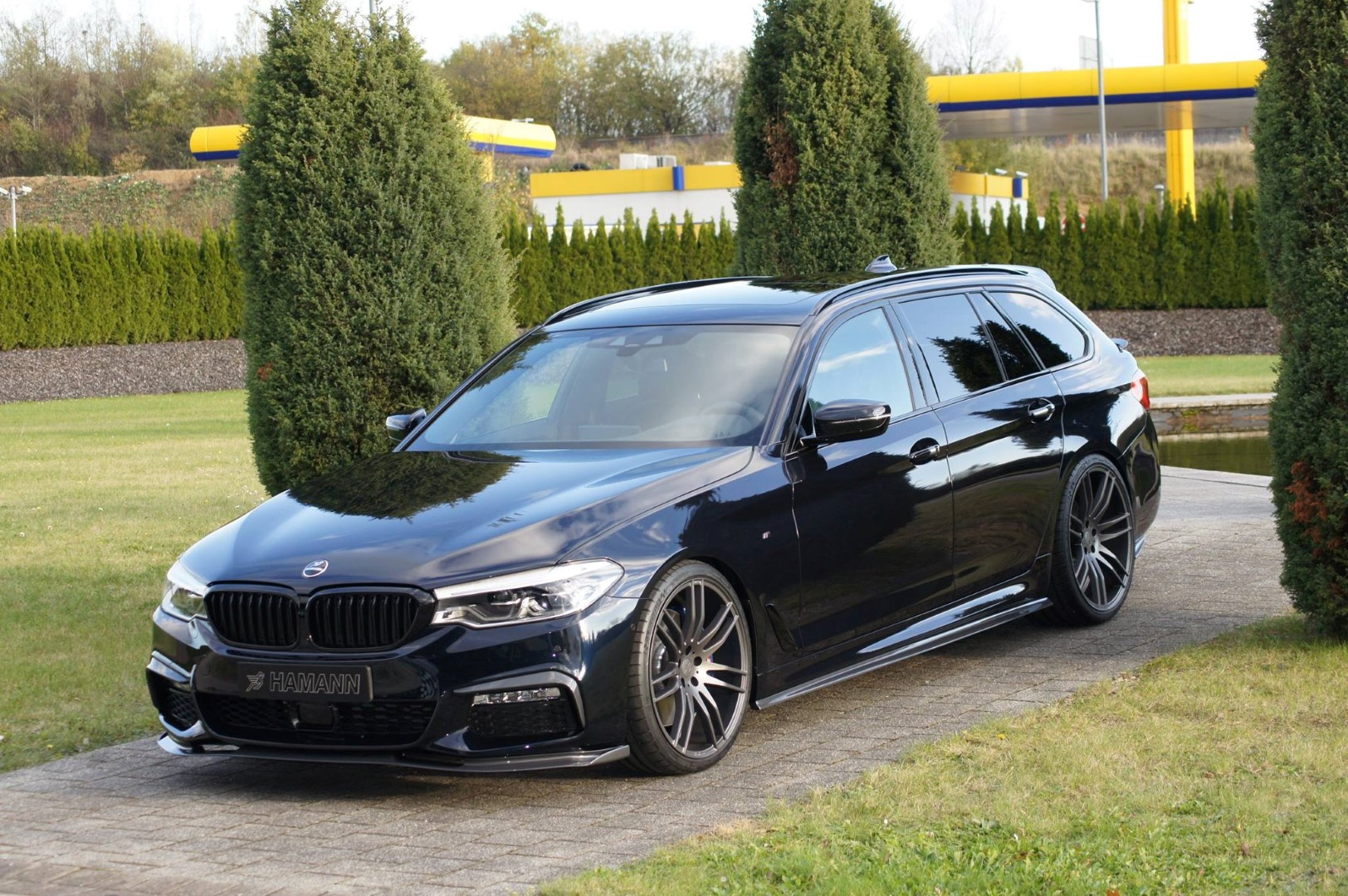 hamann bmw 5 touring ko agresije ni in ni dovolj bmwblog. Black Bedroom Furniture Sets. Home Design Ideas