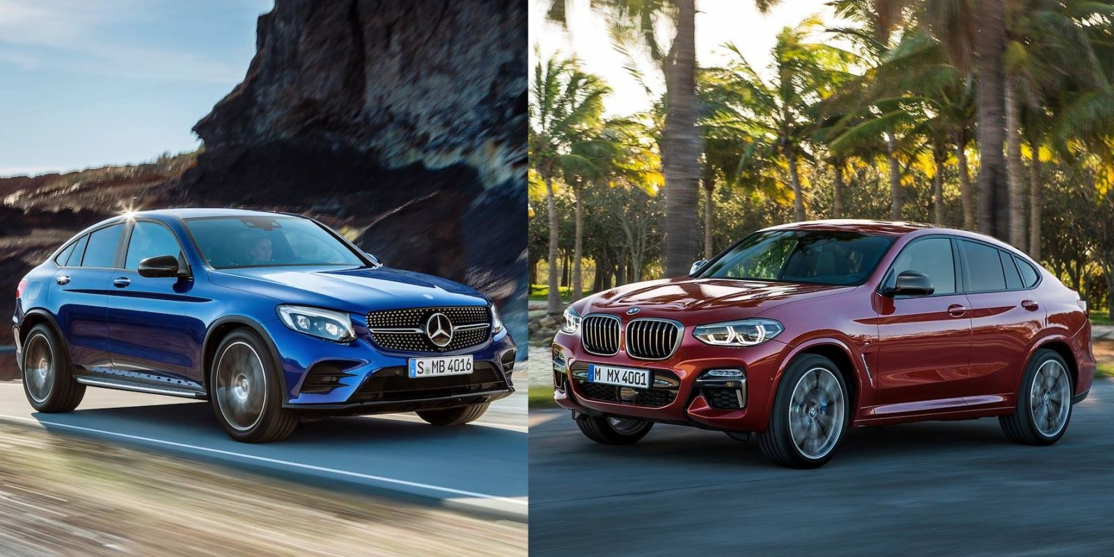 Foto primerjava novi bmw x4 proti mercedes benz glc for Novi mercedes benz dealership