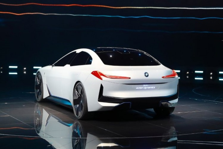 New BMW i Vision Dynamics is presented during the Frankfurt Motor Show (IAA) in Frankfurt