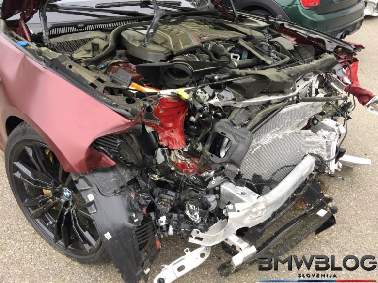 BMWBLOG - BMW M5 F90 First Edition - CRASH  (20)